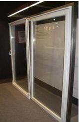 Алюмінієві двері фото