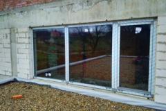 Алюмінієві вікна вставляються