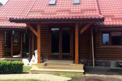 Алюмінієві вікна у хатинку