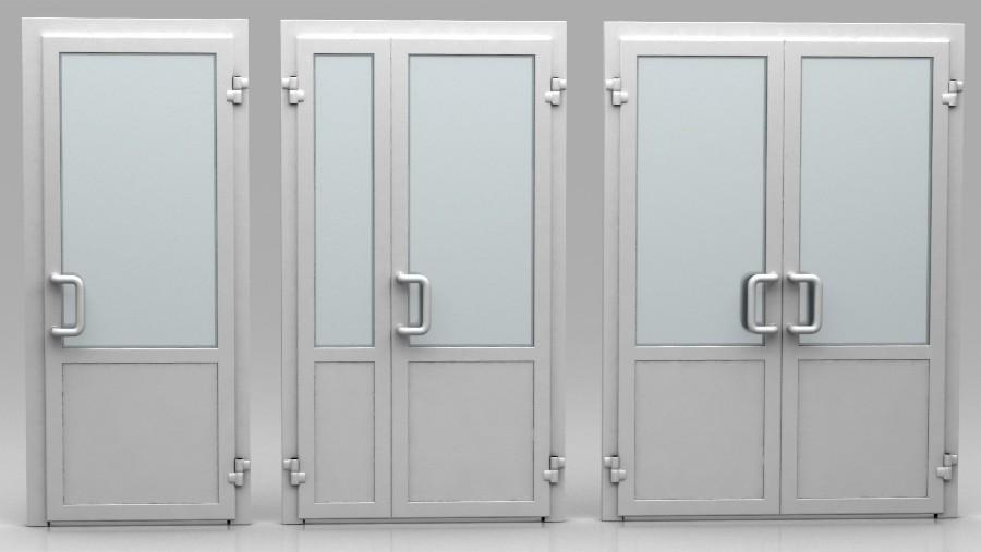 фото Як вибрати алюмінієві двері