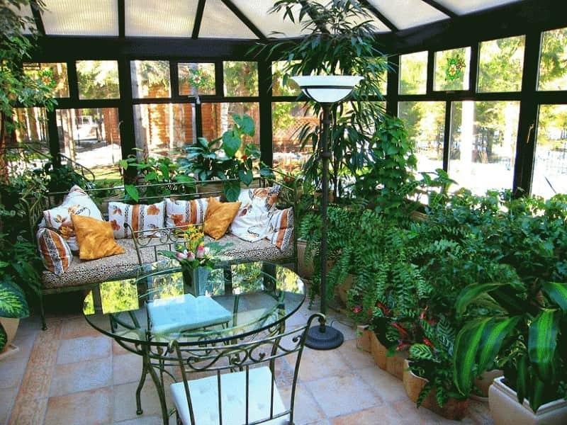 Зимові сади: особливості облаштування приміщень