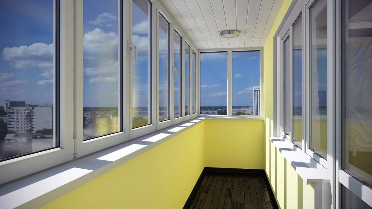 Правильна підготовка балкону до скління
