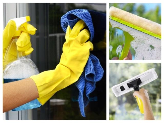 Як правильно мити вікна
